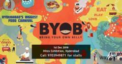 BYOB - Hyderabad's Biggest Food Carnival - BookMyStall