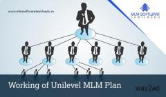 Working of Unilevel MLM Plan-Mlm Software Tamilnadu