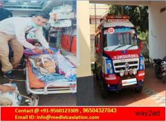 Get the Fastest Moving Service by Medivic Road Ambulance from Ranchi