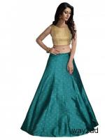 Stylish Crop Top Lehengas at Mirraw | Up to 20% Off