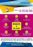 Limited Offer | Website at Rs.2499 | Free Domain | Free Hosting