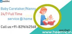 Hire Full Time Nanny in Pune,  Baby Caretaker Service