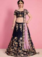 Mirraw Offering Stylish and Designer VelvetLehengas