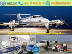 Get Safe Reallocation Service in Goa by Sky Air Ambulance