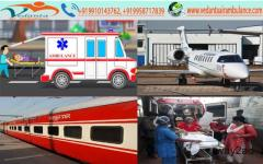 Air Ambulance Services in Raipur by Vedanta is Available at Low Cost