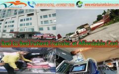 Get Best and Low Cost Air Ambulance Services in Guwahati by Vedanta