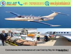 Hire Commercial Charter Air Ambulance Service in Kozhikode by Sky