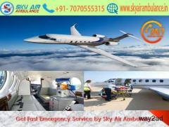 Book Sky Air Ambulance Service in Imphal with Latest Medical Tools