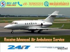 Get the Most Advanced Air Ambulance in Raipur at a Reduced Cost