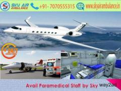 Fast Transposition with Specialist Doctor in Dimapur by Sky Air Ambulance