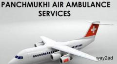Advanced Life Support Attached Air Ambulance Service in Raipur by Panchmukhi