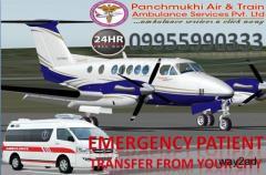 World No 1 Air Ambulance Service in Dimapur by Panchmukhi