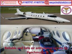 Supper Fast Air and Train Ambulance Services in Patna by Panchmukhi