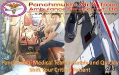 Most Secure and Comfortable Air and Train Ambulance Services in Guwahati by Panchmukhi