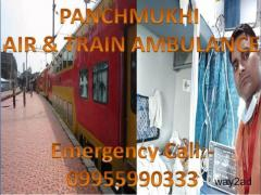 Low Cost and Reliable Train Ambulance from Jamshedpur to Delhi