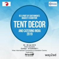 Tent Decor and Catering India 2019 at Hyderabad - BookMyStall