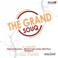 The Grand Souq Fashion Lifestyle Exhibition at Bangalore - BookMyStall