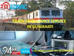 Get the Most Reliable Train Ambulance Service in Guwahati by Medivic
