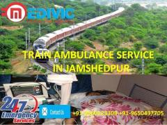 Obtain Nominal Price Train Ambulance Service in Jamshedpur by Medivic