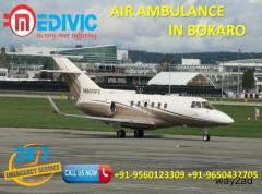 Get Top Leading and Supreme Air Ambulance in Bokaro by Medivic