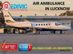 Hire Unrivalled and credible Air Ambulance in Lucknow by Medivic