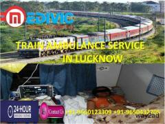 Book Gentle and Awesome Train Ambulance Service in Lucknow by Medivic