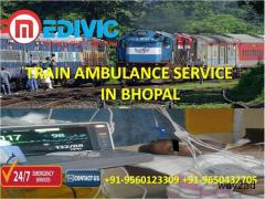 Avail Unrivalled and Low-Cost Train Ambulance Service in Bhopal by Medivic