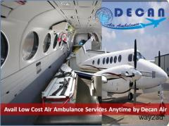 Get Efficient Care ICU Air Ambulance from Kolkata with Bed to Bed Transfer Facility