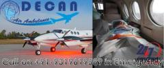 Now Economical Fare Air Ambulance from Guwahati is Available by Decan Air Ambulance
