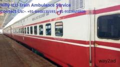 Hi Tech ICU Train Ambulance in Bangalore