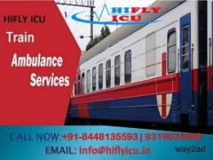 ICU Train Ambulance in Bhopal