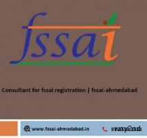 Consultant for fssai registration | fssai-ahmedabad