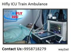 High Class ICU Train Ambulance in Delhi By Hifly ICU