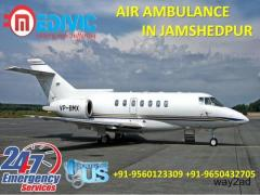 Take Peerless and Prime Air Ambulance Service in Jamshedpur by Medivic