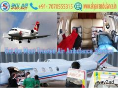 Take Top and Trusty Air Ambulance Service in Bangalore