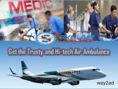 Sky Air Ambulance in Kolkata Equipped with Advance Medical Tool