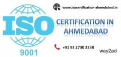 Apply for ISO 9001 certification in Ahmedabad