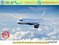 Take Affordable Price Air Ambulance in Raipur by Sky