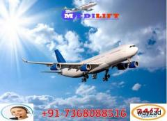 Avail of the Cheapest Cost Medilift Air Ambulance in Guwahati