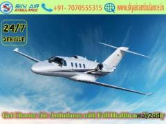 Avail Cheap and Best ICU Air Ambulance Service in Jabalpur by Sky