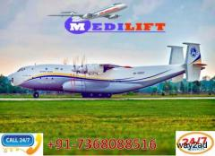 Take Classy Air Ambulance Service in Chandigarh with ICU