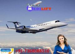 Pick Low-Fare and Classy Air Ambulance Service in Kanpur