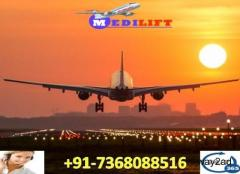Book Classy Air Ambulance Service in Shillong with ICU Setup