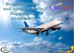 Get Low-Budget Aircraft Air Ambulance Service in Mysore