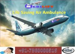 Pick Cheap and Fast Air Ambulance Service in Imphal