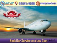 Utilize Air Ambulance from Raipur with Healthcare Medical Assistance