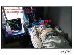 High Tech ICU Train Ambulance in Raipur By Hifly ICU