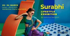 Surabhi LifeStyle Exhibition @ Kamma Sangam at Hyderabad - BookMyStall