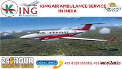 Get Air Ambulance service in Amritsar by King Air Ambulance