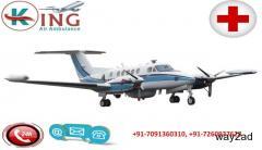 Air Ambulance service in Raipur by King Air Ambulance